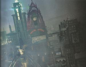 Gotham City Concept Art