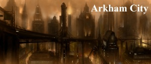 Arkham City Skyline Concept Art