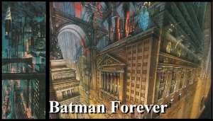 Batman Forever Gotham City Concept